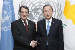 Anastasiades-Ban Ki-moon