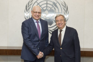 Secretary General meeting with H.E. Mr. Nicholas Emiliou (PR, REPUBLIC OF CYPRUS).