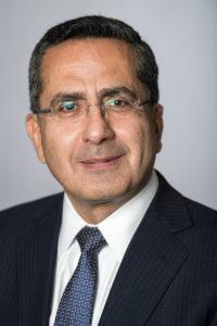Portrait of Andreas Hadjichrysanthou, Permanent Representative of the Cyprus.